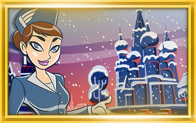 Moscow Extended Stay Coach Badge - Jet Set Solitaire