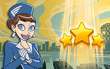 Vancouver World Class Badge - Jet Set Solitaire