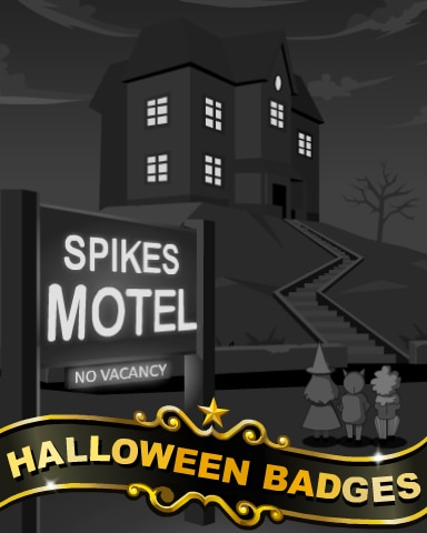 Spike's Motel Badge - Poppit! Party