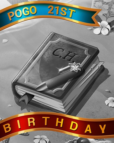 Beach Journal Birthday Badge - Claire Hart: Secret In The Shadows