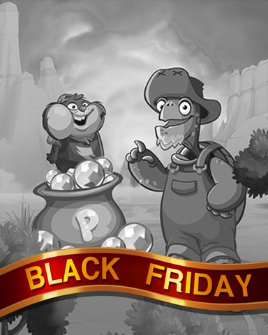 Jimmy's Gems Black Friday Badge - Peggle Blast HD