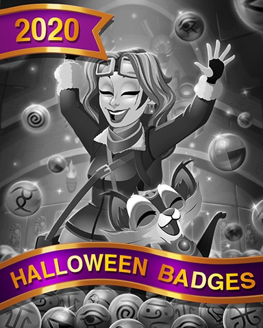 Flying Stones Halloween Badge - Phlinx II