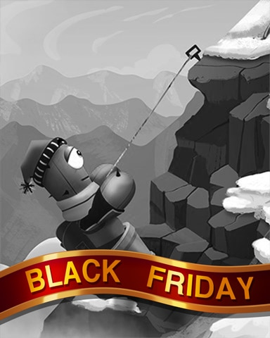 Summiting Saguaro Black Friday Badge - Poppit! Party