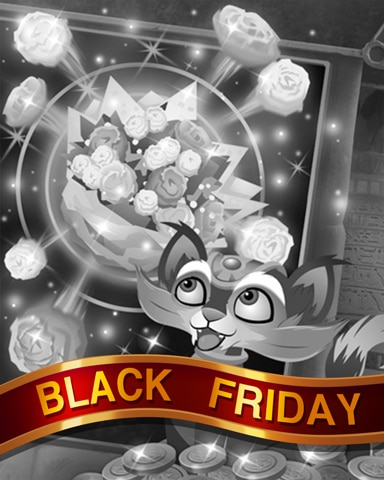 Flowery Jackpot Black Friday Badge - Pogo™ Slots