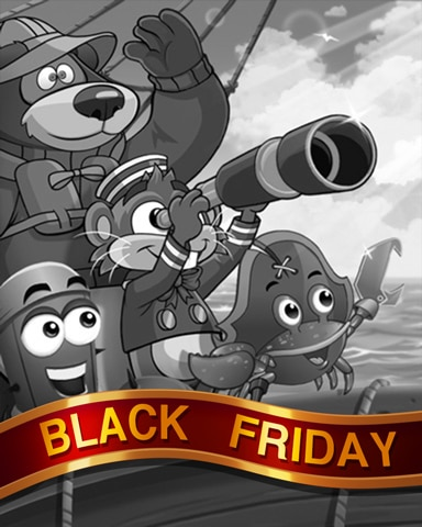 Spotting Land Black Friday Badge - Thousand Island Solitaire HD