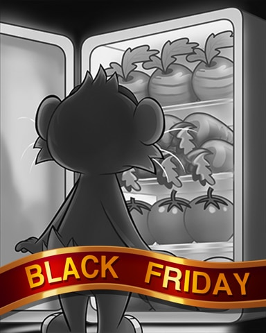 Hearty Harvest Black Friday Badge - Word Whomp HD