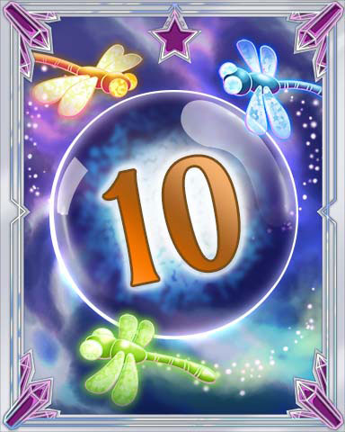 Magic Dragonfly 10 Badge - Claire Hart: Secret In The Shadows