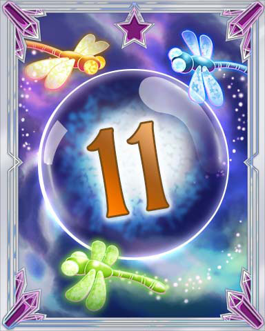 Magic Dragonfly 11 Badge - Claire Hart: Secret In The Shadows