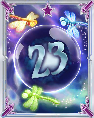 Magic Dragonfly 23 Badge - Quinn's Aquarium