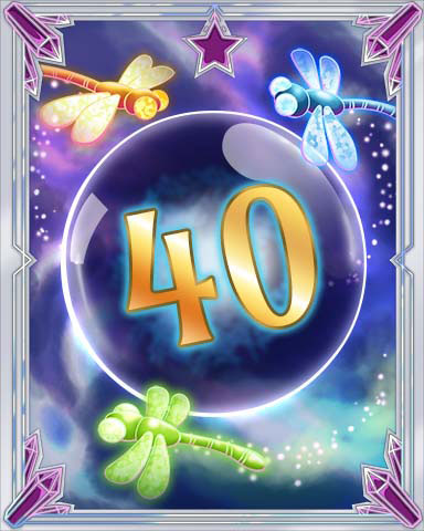 Magic Dragonfly 40 Badge - Big City Adventure