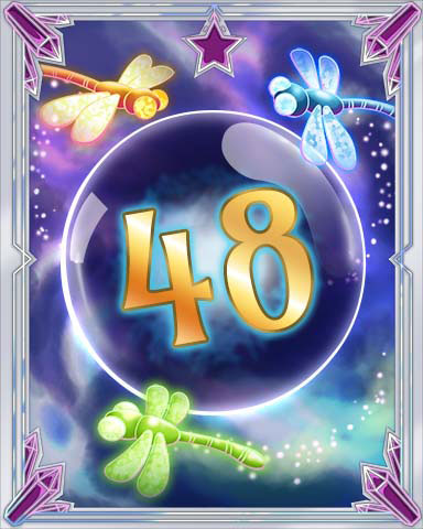 Magic Dragonfly 48 Badge - Canasta HD
