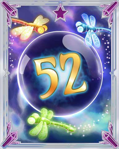 Magic Dragonfly 52 Badge - First Class Solitaire HD