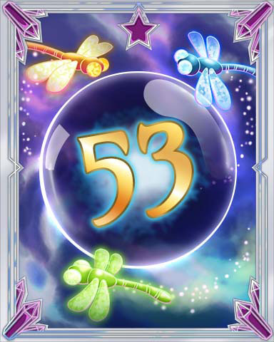 Magic Dragonfly 53 Badge - First Class Solitaire HD