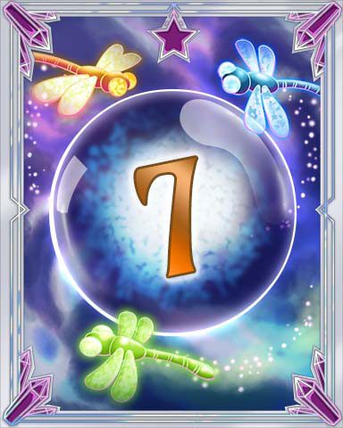 Magic Dragonfly 7 Badge - Claire Hart: Secret In The Shadows