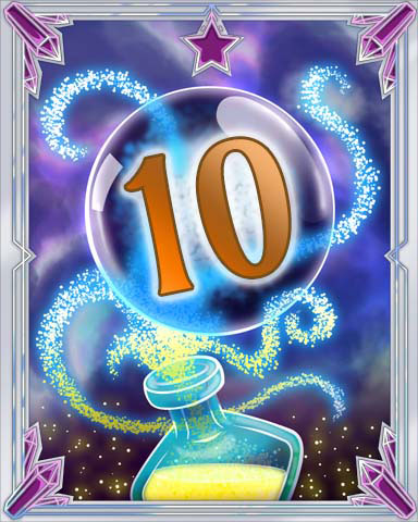 Elixir Bottle 10 Badge - Sweet Tooth Town