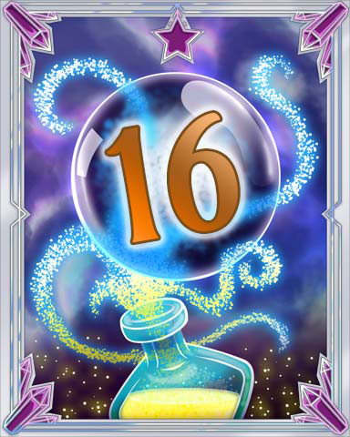 Elixir Bottle 16 Badge - Mahjong Sanctuary