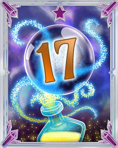 Elixir Bottle 17 Badge - Mahjong Sanctuary