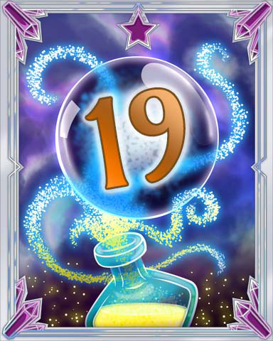 Elixir Bottle 19 Badge - Claire Hart: Secret In The Shadows