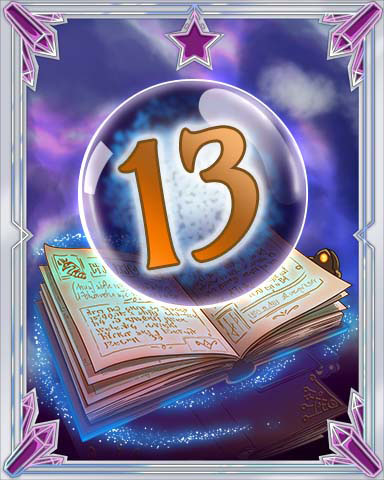 Spellbook Vol. 13 Badge - Mahjong Sanctuary