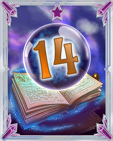 Spellbook Vol. 14 Badge - Mahjong Sanctuary