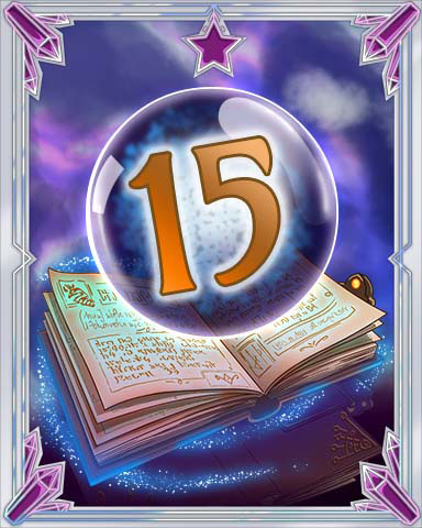 Spellbook Vol. 15 Badge - Mahjong Sanctuary