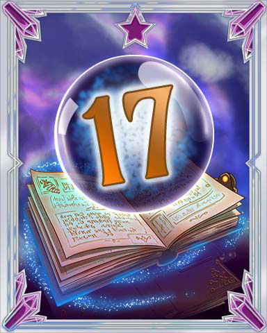 Spellbook Vol. 17 Badge - Mahjong Sanctuary