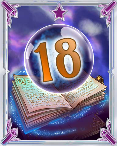 Spellbook Vol. 18 Badge - Mahjong Sanctuary