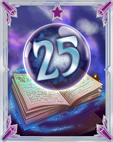 Spellbook Vol. 25 Badge - Pogo Daily Sudoku