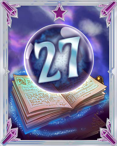 Spellbook Vol. 27 Badge - Pogo Daily Sudoku