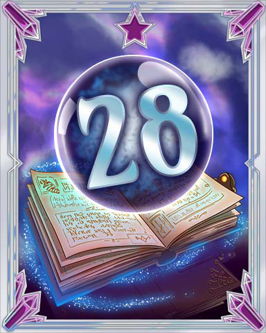 Spellbook Vol. 28 Badge - Pogo Daily Sudoku