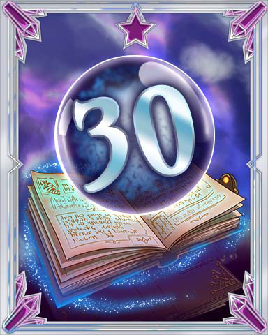 Spellbook Vol. 30 Badge - Pogo Daily Sudoku
