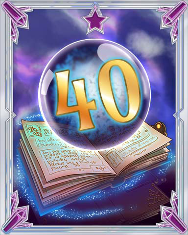Spellbook Vol. 40 Badge - StoryQuest