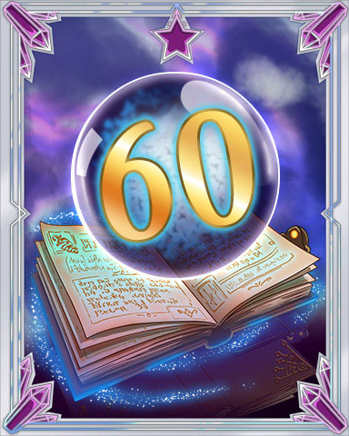 Spellbook Vol. 60 Badge - Word Whomp HD