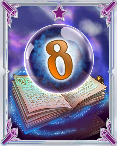 Spellbook Vol. 8 Badge - Claire Hart: Secret In The Shadows