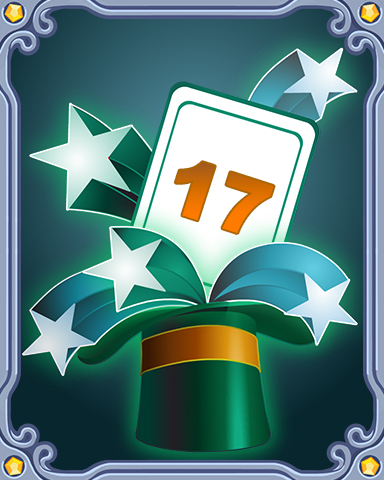 Spring Magic Lap 17 Badge - Jet Set Solitaire