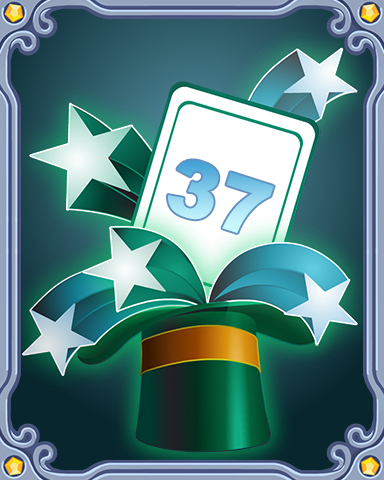 Spring Magic Lap 37 Badge - Canasta