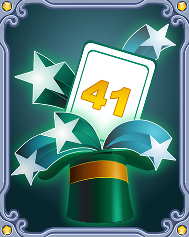 Spring Magic Lap 41 Badge - Tri-Peaks Solitaire HD