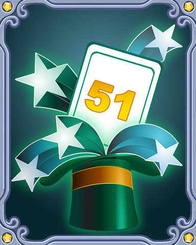 Spring Magic Lap 51 Badge - First Class Solitaire HD