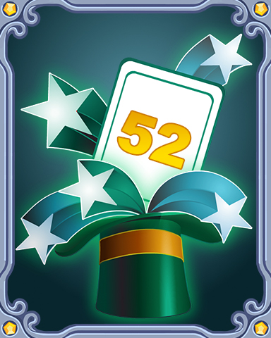 Spring Magic Lap 52 Badge - SCRABBLE