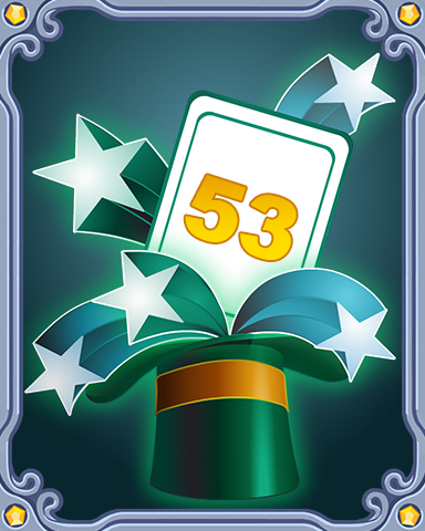 Spring Magic Lap 53 Badge - SCRABBLE