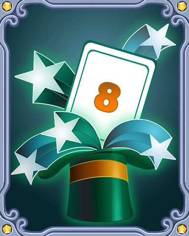 Spring Magic Lap 8 Badge - Mahjong Escape