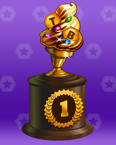Golden Cone Lap 1 Badge - Aces Up! HD