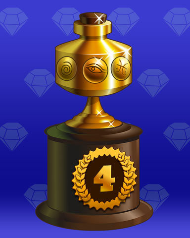 Treasure Trail Lap 4 Badge - First Class Solitaire HD