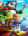 Scurvy Dogs Badge - Pogo Addiction Solitaire HD