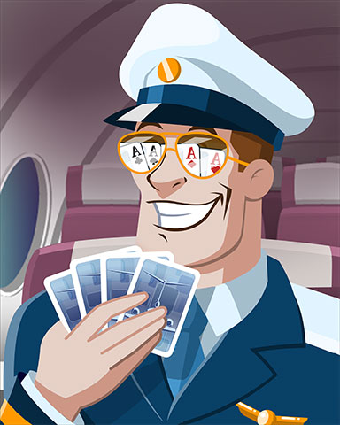 Captain On Deck Badge - First Class Solitaire HD