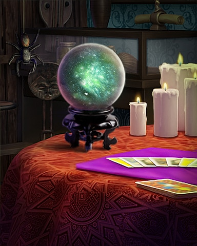 Mystical Crystal Surprise Badge - Claire Hart: Secret In The Shadows