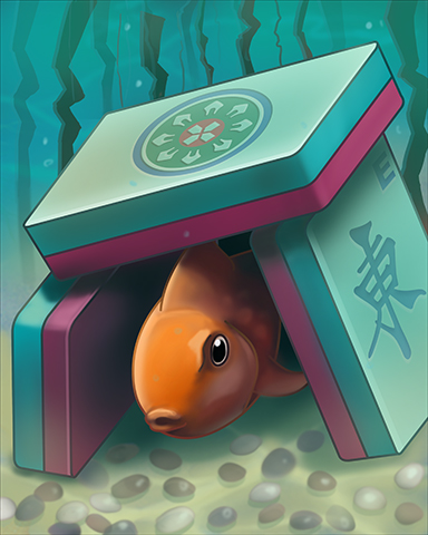 Fishy House Badge - Quinn's Aquarium