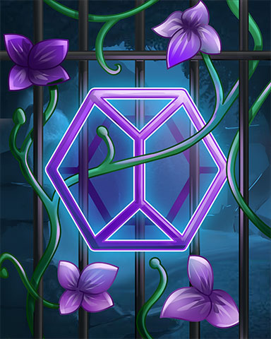 Violet Mystery Badge - Jewel Academy