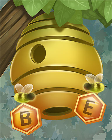 Be Sweet Badge - Tumble Bees HD