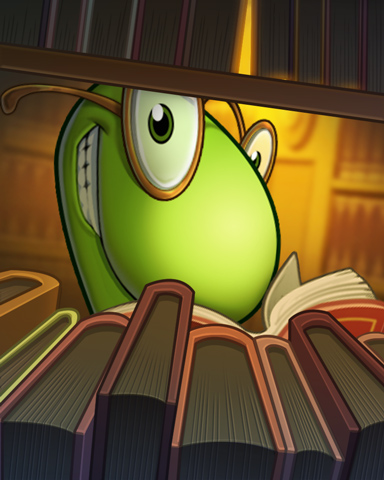 Lex At Play Badge - Bookworm HD